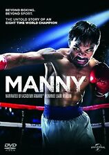 Manny (Pacquiao) (Boxing) Narrated by Liam Neeson Region 4 New DVD