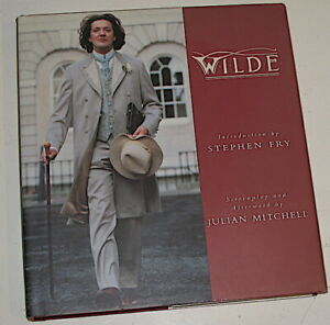 WILDE screenplay Book by Julian Mitchell. As new condition.1997
