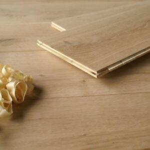 19CM Wide Engineered Oak Flooring for Underfloor Heating / Unfinished Wood ECH9