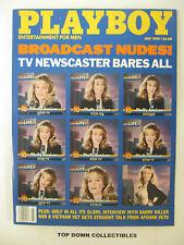 Playboy Magazine   July  1989    Shelly Jamison: TV News Knockout