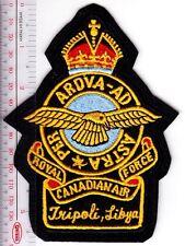 Canada Royal Canadian Air Force RCAF WWII CFB Station Tripoli, Libya