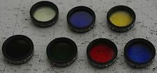 7 Meade telescope color filters (Filter Astronomy)