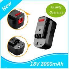 Batterie 18v 2.0Ah pour BLACK&DECKER 244760-00,A18,A1718,HPB18,HPB18-OPE,FS180BX