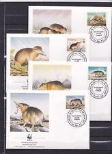 Dominicana 1994 - FDC - Dieren / Animals WWF/WNF