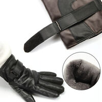 Motorcycle /cruiser Winter Leather Gloves Full Finger Mountain Bike Racing Tools