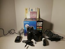 Sony Mavica Mvc-Cd500 5Mp Digital Camera Black W/ Battery, Charger, Accessories!