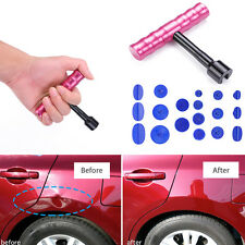 Portable Car Body Panel T-Bar Puller Lifter Paintless Dent Repair Removal Tool
