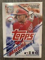 ✅⚾️🔥2021 Topps Baseball Series 1 Blaster Box 7 Packs New Factory Sealed MLB