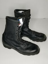 Wellco Leather Ro Search Military Combat Boots NS 4-97 Size 13 W Black