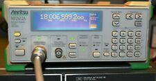 Anritsu mf2412a 10hz-20ghz Microwave Counter CW & Puls Mess gut