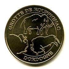24 ROUFFIGNAC Grotte 3,  Mammouth et bisons, 2008, Monnaie de Paris