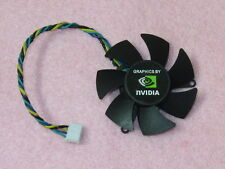 45mm NVIDIA Video Card Fan Replacement 39mm 4Pin PLD05010S12M DC 12V 0.15A R171
