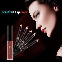 Matte Liquid Lipstick Lips Pencil Makeup Cosmetics Long Lasting Mate Lip Gloss