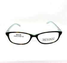 Bulova Eyeglasses Rx Eyewear Ixyapa Tortoise Green 53-16-140