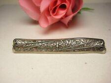 Broche antiguo 835 joyería de Plata Antiguo Deco UM 1930