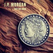 Morgan Retro Finish 1879 Dollar Size Replica (RETRO) for Real Coin Magic Trick