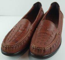 SAS Tripad Comfort Foot Bed Women's Brown Loafers Size 9.5 M