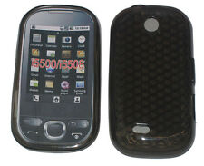 For Samsung i5500 i5508 Galaxy 5 Europa Pattern Gel Case Protector Cover Black