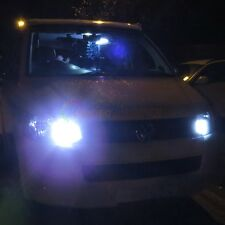 2x VW T5 16 TRANSPORTER PURO Xeno Bianco CREE LED P21W 1156 BA15S DRL Upgrade
