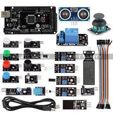 SainSmart Mega2560 R3 Sensor Modul Starter Kit For Arduino UNO R3 LCD Relay &MCU