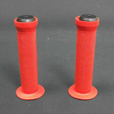 Scooter/Bike  Handlebar Grips Red-Orange includes bar ends. Free Postage