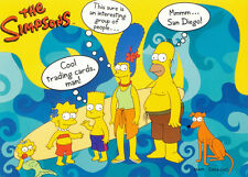 SIMPSONS 10TH ANNIVERSARY 2000 INKWORKS SAN DIEGO COMIC CON PROMO CARD SD2000