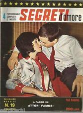 FOTOROMANZI SEGRETI D'AMORE # 19 - GENNAIO 1964- RARO
