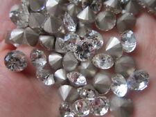 20 x vetro sottolineato RETRO STRASS castoni CONO Crystal della gioielleria