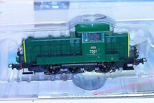 PIKO 96444 LOCOTRACTEUR 7301 LNC MONCEAU SNCB NMBS CC/DC PLUX 22