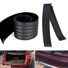 """35"""" Car Rear Bumper Guard Protector Cover Scuff Sill Plate Trim Pad 90x8cm Real"""