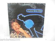 PAUL MCCARTNEY BROAD STREET LP 33 GIRI