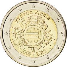 EUR, Chypre, 2 Euro 10 ans de l'Euro 2012 #84991