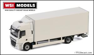 Wsi 03-2031 DAF CF Space Cab 2017, 4x2 Ridgid Box Van Truck, 1/50 Scale