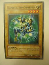 (x1) Elemental Hero Sparkman TLM-EN004 Light Card Yu-Gi-Oh (JB-63)