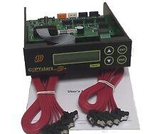 Copystars CD/DVD/Blu Ray duplicator controller 1-7  128MB buffer, SATA + cables