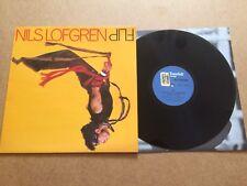 NILS LOFGREN - FLIP   LP UK TOWERBELL RECORDS TOWLP 11+ INNER SLEEVE  NEAR MINT