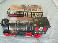1960's WOOLWORTH WOOLCO IRON HORSE LOCOMOTIVE-WORKS-BATTERY-BOX