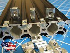 50pcs M5 Heavy Duty Sliding T Nut for 2020, 20 Series T Slot Aluminum Extrusion