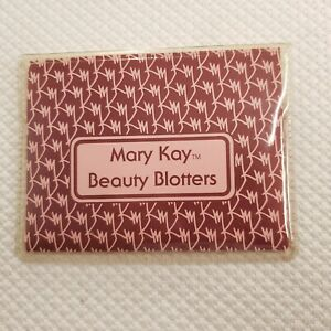 Vintage 80s Mary Kay Beauty Blotters Oil Absorbing Tissues 75 Count 2 Packages