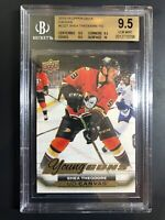 2015-16 Shea Theodore Young Guns Canvas Rookie BGS 9.5