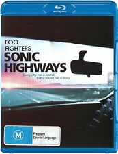 Sonic Highways (Blu-ray Disc, 2015, 3-Disc Set) Foo Fighters NEW/SEALED
