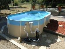 ABOVE GROUND SWIMMING POOL PACKAGE  8.2mx4.5mx1.32m FREE VACUUM KIT
