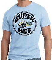 PubliciTeeZ Big and Tall King Size Licensed Dodge Super Bee Logo T-Shirt