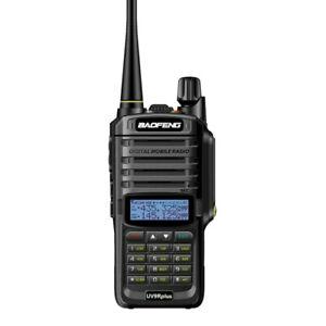 UV-9R Plus VHF UHF Walkie Talkie Dual Band Funkgerät IP68 20W