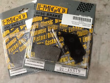 2 pair Brake Pad FA208 For BENELLI BMW DS 644 DS HUSABERG KTM Husky FA 208 EMGO