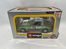 """NEW - BURAGO 0174 Mazda RX7 - Green """"MOTUL"""" - 1:24 Scale SUPER RARE!!"""