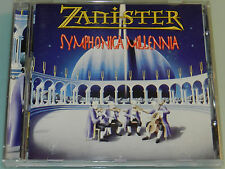 Zanister - Symphonica Millenia - '99 OOP cd Chastain Surgeon Liege Lord Helstar