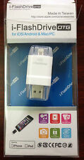 i-FlashDrive USB Flash Drive for iPhone 5 5s 5c 6 6plus iPad MAC PC & Android
