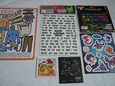 Fridge magnet job lot bundle Loot cratenight of living dead tobias tetris star