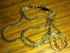 "Solid 14K gold double strand bracelet 9.35 grams 8.25"" long stamped"
